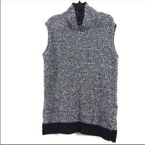 LOFT Turtleneck Tunic Lagenlook Sweater Medium